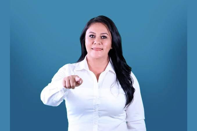 Alcaldesa de Cintalapa/ Fuente: Twitter