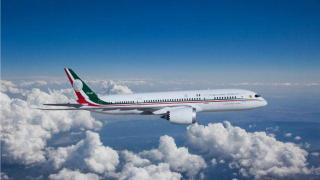 DPC: el avión presidencial