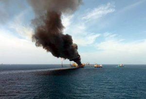 La explosión de la plataforma Ku-Alfa de Pemex